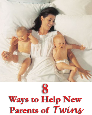 8 ways to help new parents of twins