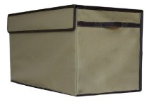 Large collapsible toy box