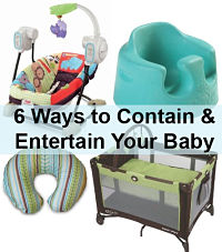 Contain entertain babies