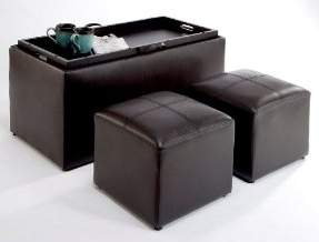Toy Storage Ottomans