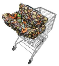 Twin cart cover