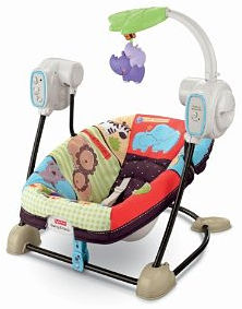 Twins portable swing