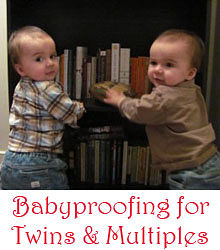 babyproofing twins multiples