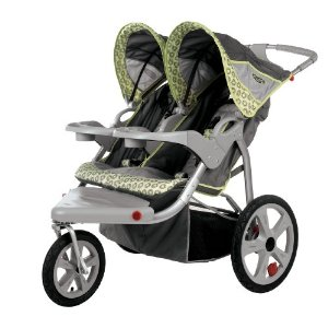 Instep Double Jogger Stroller