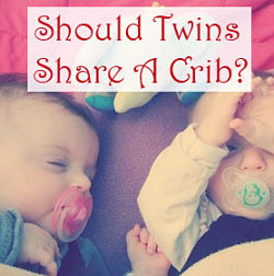 Should twins share crib