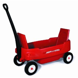 Red Radio Flyer Pathfinder Wagon