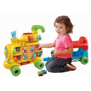 Vtech train alphabet blocks