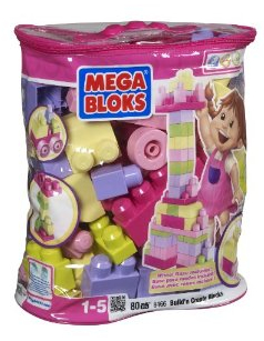 Mega Blocks Pink 80 piece set