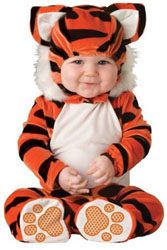 Twin baby tiger costume