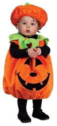 Twin baby Pumpkin costume