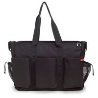Double deluxe diaper bag