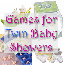 twin baby shower games twin baby shower themes boys 220x223