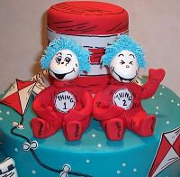 twin baby shower dr seuss