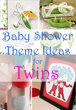 Twin Baby Shower: Theme Ideas | Games | Invites