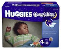 huggies twin overnight diapers