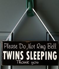 sleeping twins sign