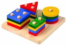 wooden toddler learning toy