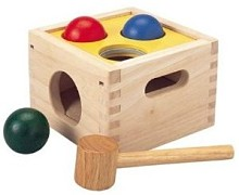 wooden toddler hammer toy