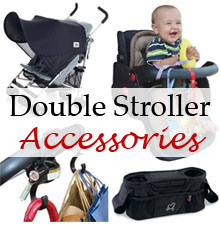 double stroller accessories