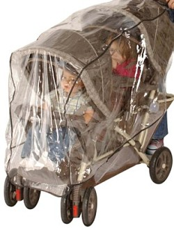 double stroller weather shield