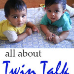 Twin Babies Talking
