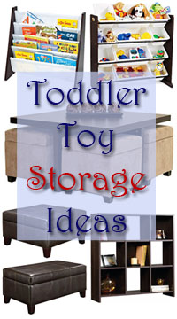 Merveilleux Toddler Toy Storage Ideas
