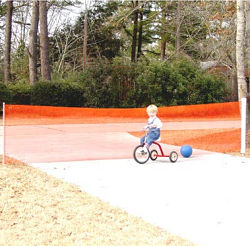toddler safety driveway guard