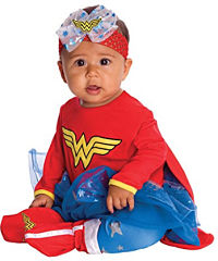 Twin baby wonder woman costume