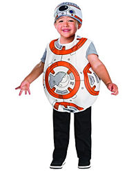 Twin BB-8 baby costume