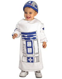 Twin baby R2-D2 costume